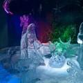 Un presepe di ghiaccio a Matera