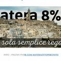 """L'associazione """"Matera sempre insieme"""" presenta il progetto """"Matera 8%"""""""