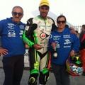 Raffaele Rubino sul podio della Dunlop Cup