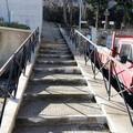 Dopo dieci anni riaperta la scalinata di Via Fortunato