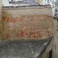 Atti vandalici nei Rioni Sassi