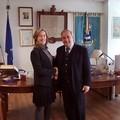 Il Console degli Stati Uniti in visita dal sindaco De Ruggieri