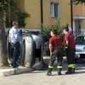 Auto si ribalta a Piccianello