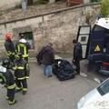 Bomba in via Casalnuovo