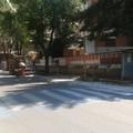 Lavori stradali in via Lazazzera