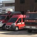 In fiamme tre casette di legno in via La Martella
