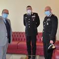 Questura Matera, visita del comandante dei carabinieri