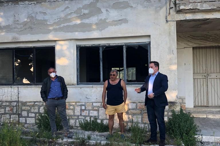visita ai borghi del consigliere comunale Nicola Casino
