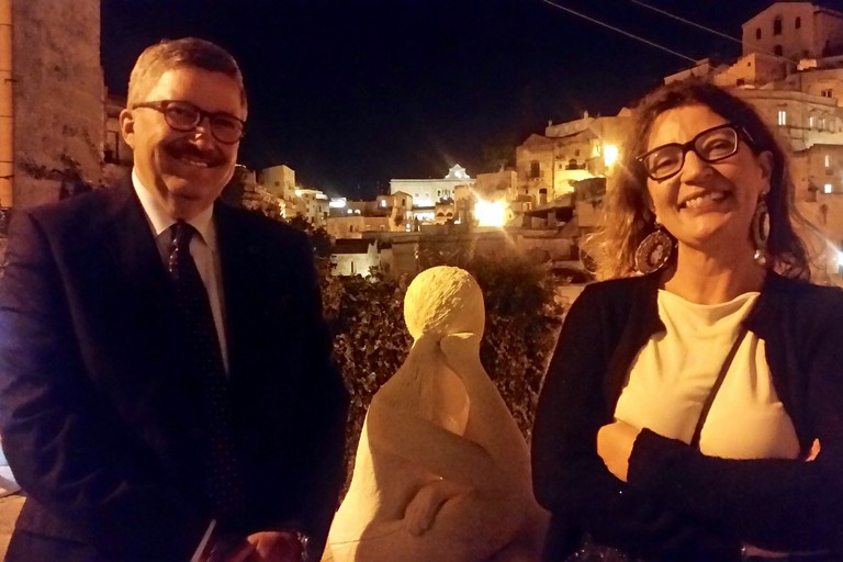 Angelo Tortorelli e Margherita Grasselli