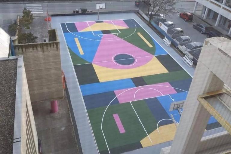 campo basket P.zza degli Olmi
