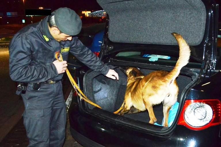 Controlli antidroga a Matera, tre arresti