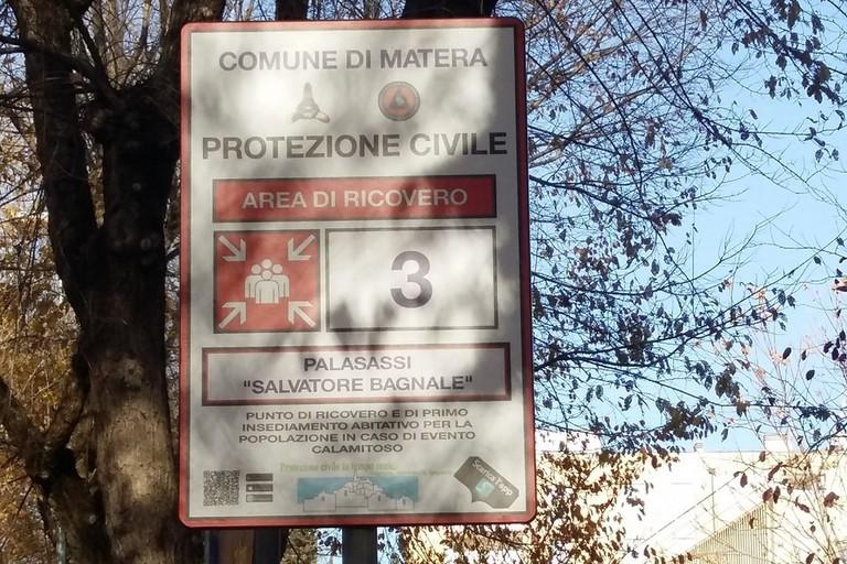 cartelli di Protezione civile
