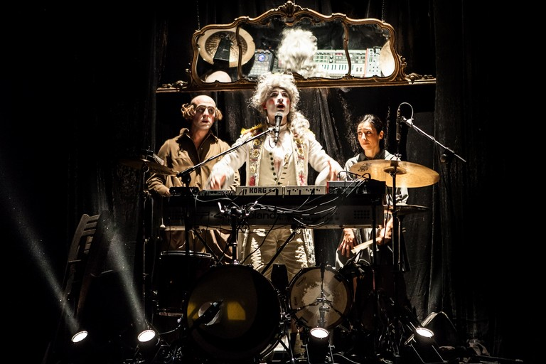 EL GRITO - Johann Sebastian Circus - photo Mauro Landi