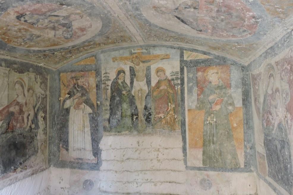 Chiesa rupestre 4 evangelisti