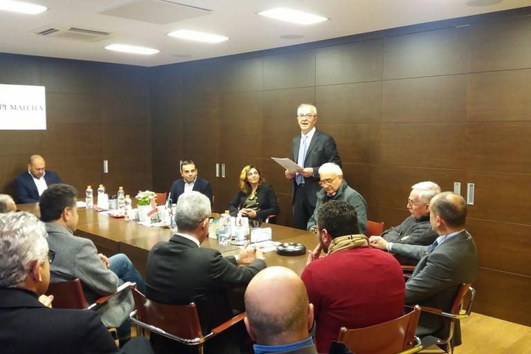 incontro alla Confapi Matera con il vice Ministro Caselli