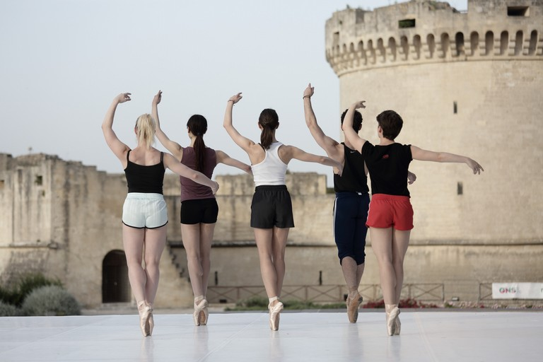 Danza al Castello Tramontano