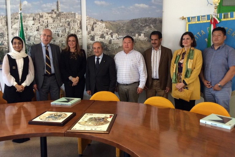 delegazioni straniere in visita a Matera