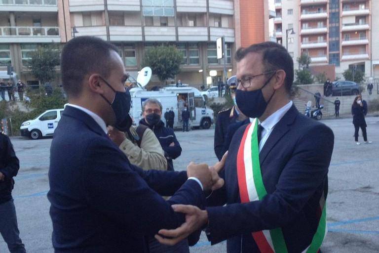 Luigi Di Maio e Domenico Bennardi