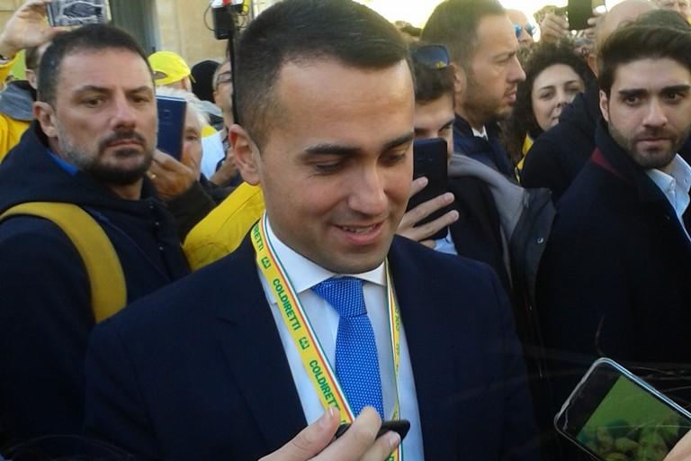 Il ministro Di Maio a Matera