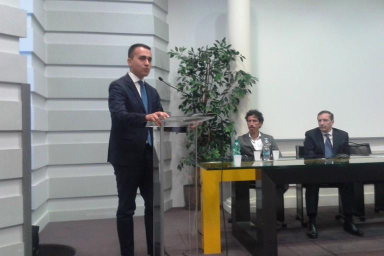 """Di Maio: """"Non solo Venezia è nel dramma, pure Matera e altre regioni"""""""