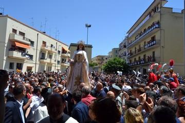 Arrivo Madonna della Bruna a Piccianello
