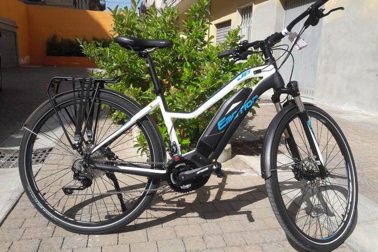 turismo sostenibile: e-bike a Matera