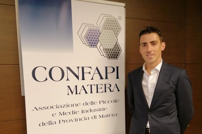 Eustachio Papapietro- nuovo presidente giovani imprenditori- Confapi Matera