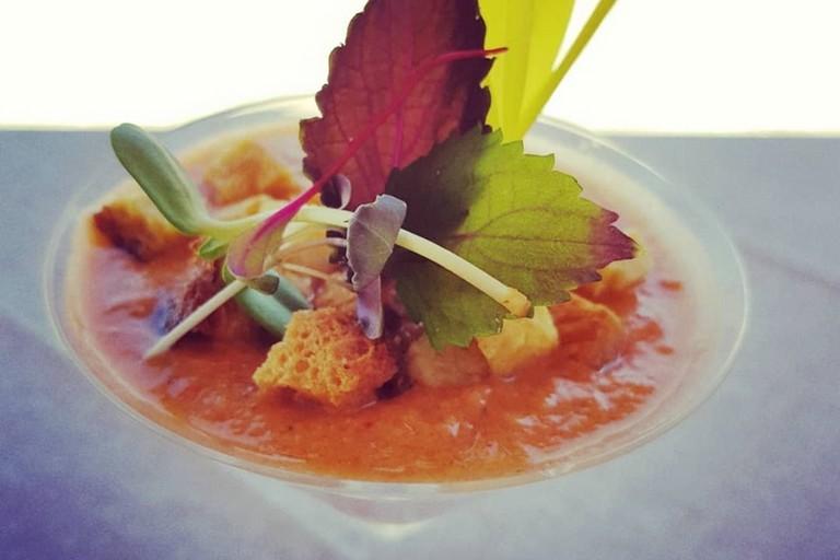 "Ricetta Salata ""Gazpacho Lucano"