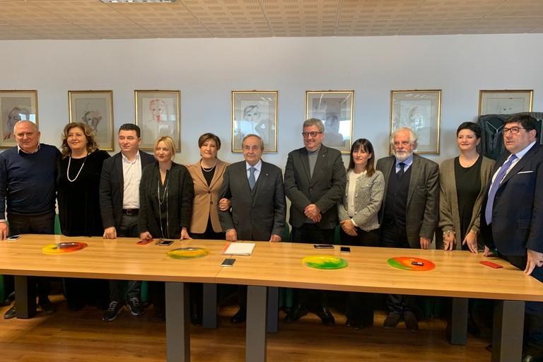 Giunta nominata dal sindaco De Ruggieri