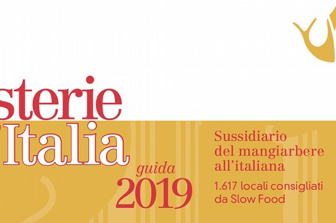 Guida Osterie D'Italia 2019- Slow Food