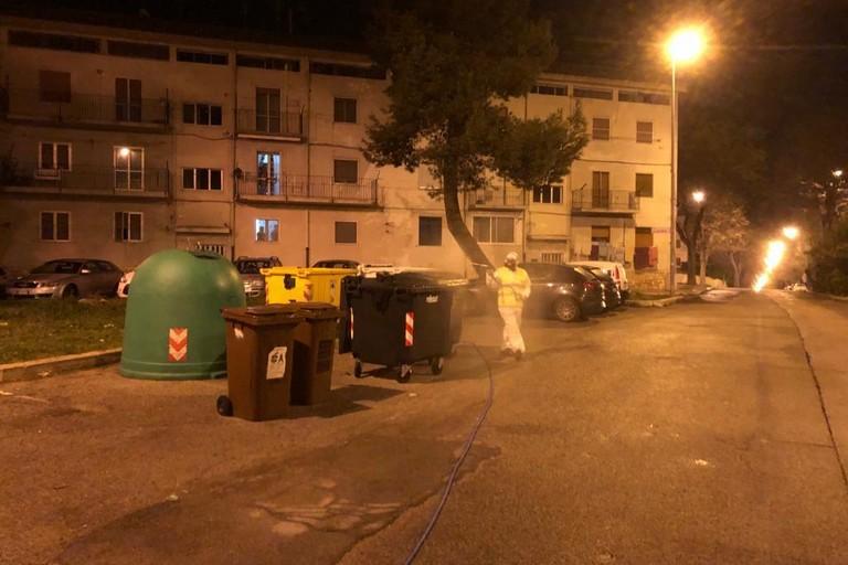 Intervento di disinfestazione a Matera