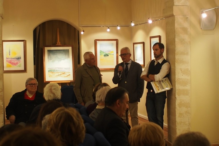 Inaugurazione mostra di Andrea Tuccillo