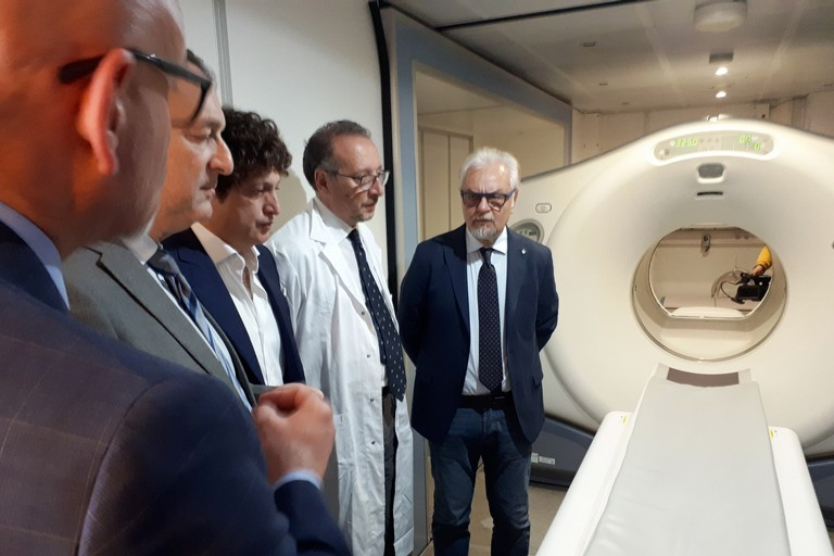 Inaugurazione Pet-Tc all'ospedale di Matera