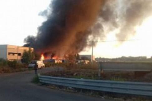 Incendio a Metaponto, morta una donna