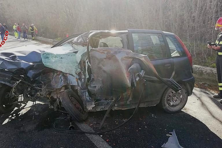 Incidente sulla strada statale 7 a Matera