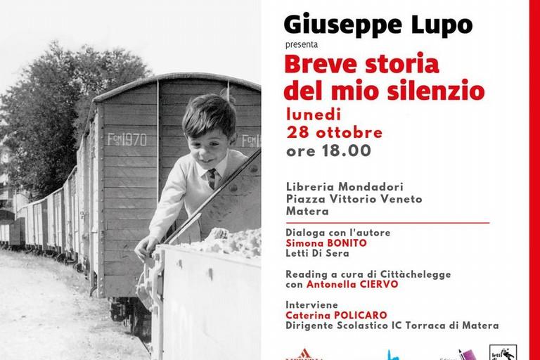 presentazione libro Giuseppe Lupo