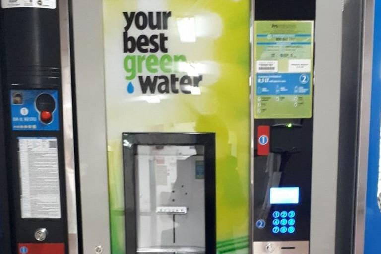 macchina distributrice di acqua