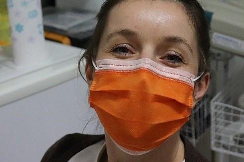 Mascherina di protezione. <span>Foto Ministero della salute</span>