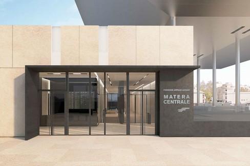 Stazione di Matera centrale delle FAL (progetto)