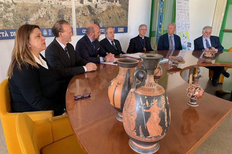 Firma del patto di azione della Magna Grecia