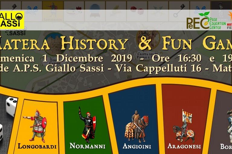 matera history & fun game