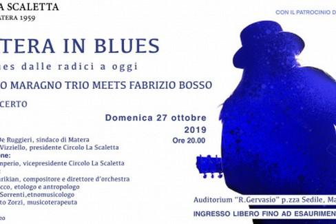 Matera in blues