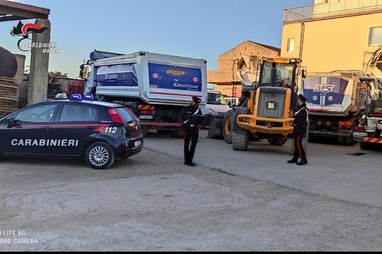 Ritrovati sette mezzi d'opera rubati a Irsina