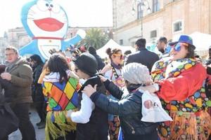 Carnevale a cavallo 2015. <span>Foto Vittoria Scasciamacchia</span>