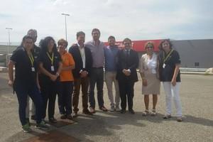 Questione migranti, i consiglieri Rosa e Fragasso in visita al C.a.r.a. di Matera