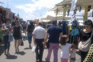 Mercato del sabato zona Paip 2. <span>Foto Vittoria Scasciamacchia</span>