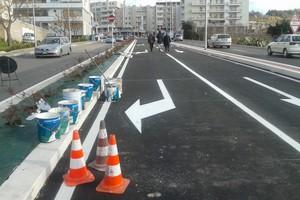 Via La Martella quasi completata