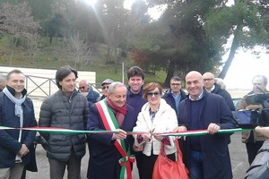 Inaugurata area camper in via dei Normanni