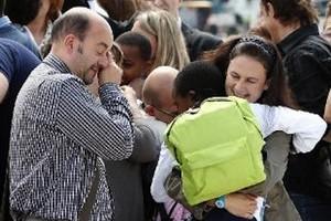 Arrivo dei bambini dal Congo