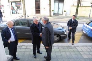 Il Questore Stanislao Schimera con il Prefetto Luigi Pizzi